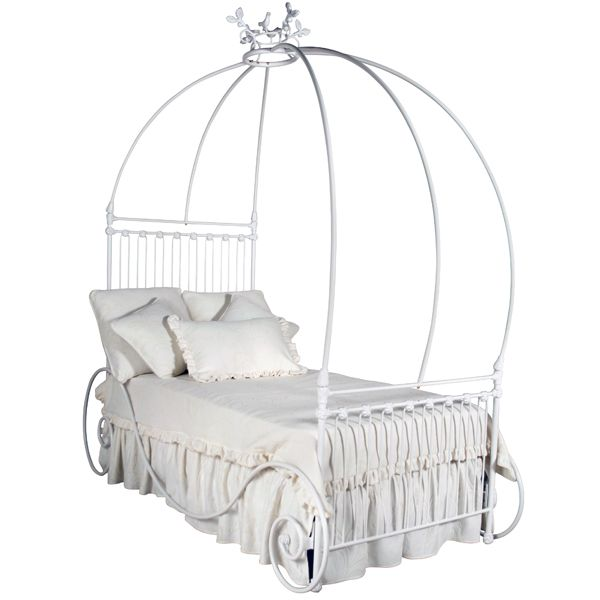 Carriage Iron Canopy Bed - stunning!