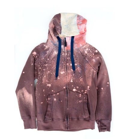CBE Speckled Hoodie (2012) by Elly Green.