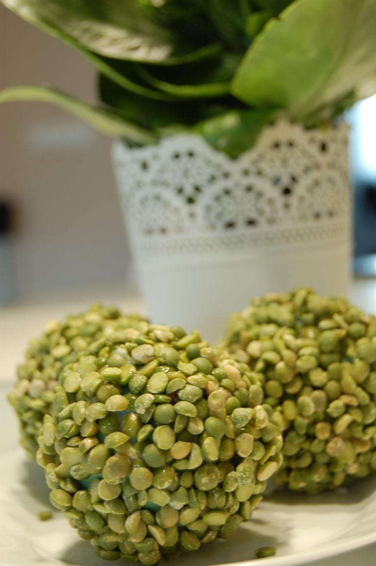 Tavaszi dekoráció készítése - borsógömb videó tutorial