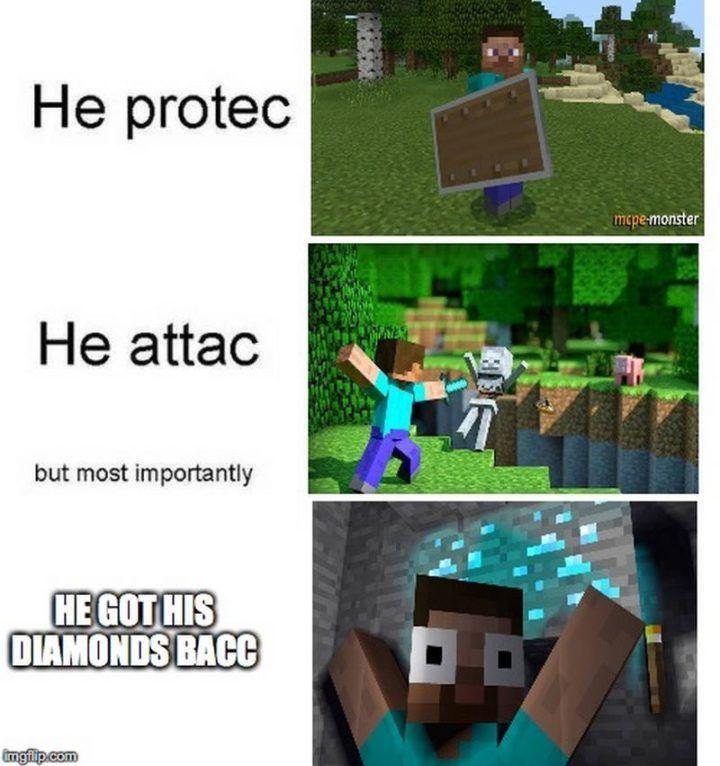85 Funny Minecraft Memes Celebrating 10 Years Of Gaming Goodness Minecraft Memes Minecraft Funny Memes