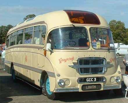 Ford Thames Trader Burlingham of Grayscroft Coaches