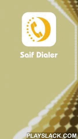 SaifDialer  Android App - playslack.com , Making International calls has no longer been a costly affair owing to the availability of international calling cards in markets. With the use of these calling cards the tariff rates or expenses of calls are slashed so effectively that the user enjoys overseas calls or long distance calls without making a hole in one's pocket. Anyone can make international call with these cards without thinking twice. So, if you to want to avail yourself of the…