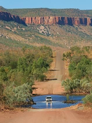Crossing the Pentecost River on the Gibb River Road http://www.bloggerme.com.au/states/wyndham Australia. Picture: Gary Rogers.