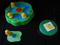 How to adapt the Lucky Ducks Game for blind children. *pinned by WonderBaby.org