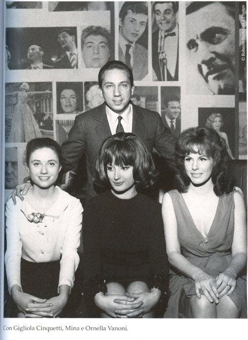 "Mina presenta ""Città vuota"" a Gala Tv il 3 gennaio 1963"