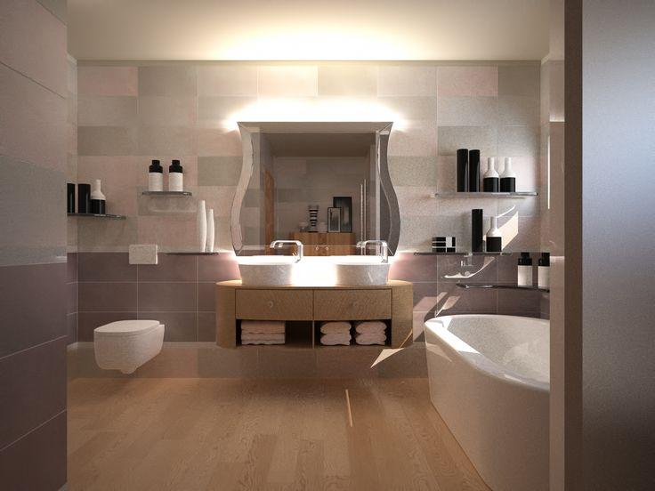 Bathroom by Carpanelli COntemporary