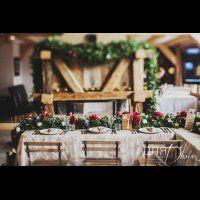 свадьба в стиле бохо во французских Альпах, декор места торжества