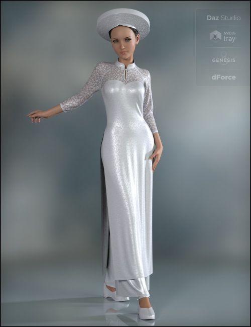 dForce Eastern Elegance for Genesis 8 Female(s) | 3D Clothing for