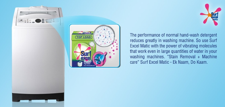 Have you found the perfect match for your washing machine? #SoakNoMore