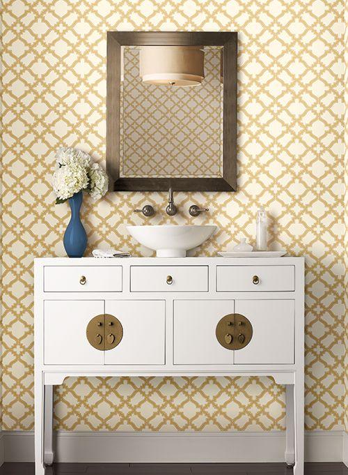 244 besten Wallpaper, stickers and mural Bilder auf Pinterest - goldene tapete modern design