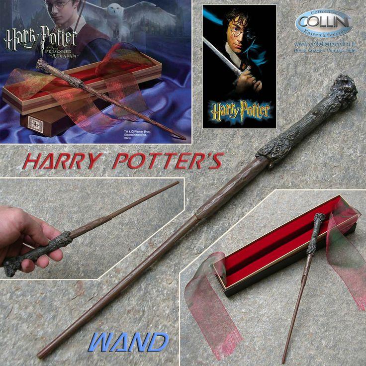 Harry Potter - Bacchetta Magica di Harry Potter http://www.coltelleriacollini.it/harry-potter-bacchetta-magica-di-harry-potter-5814/