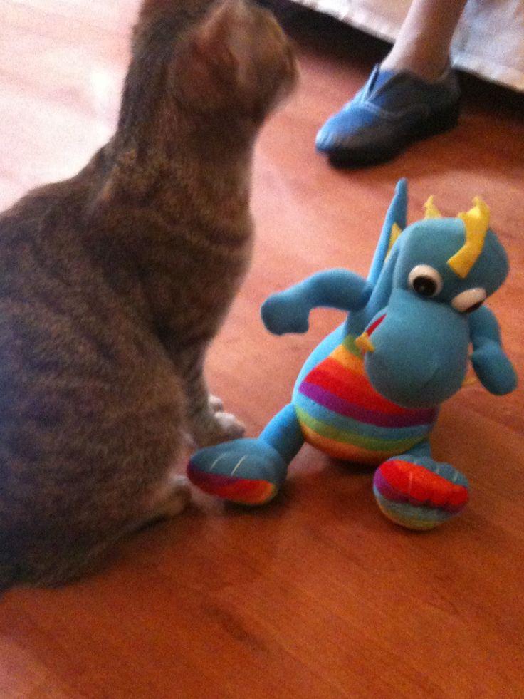 I'm bigger than a dragon!
