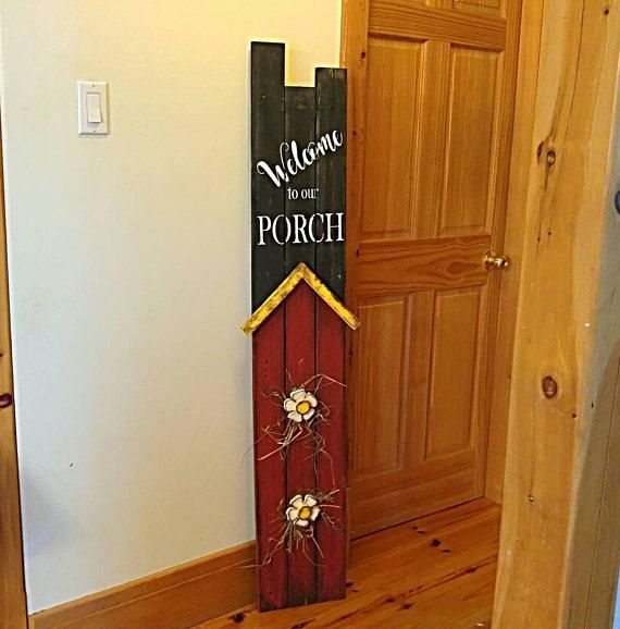 Hey, I found this really awesome Etsy listing at https://www.etsy.com/ca/listing/595512297/rustic-welcome-sign-rustic-porch-decor