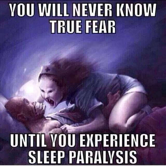 how to get up from sleep paralysis