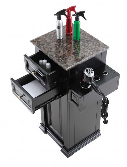 check out the versatile chelsea petite salon tower station in a variety of color options - Salon Stations