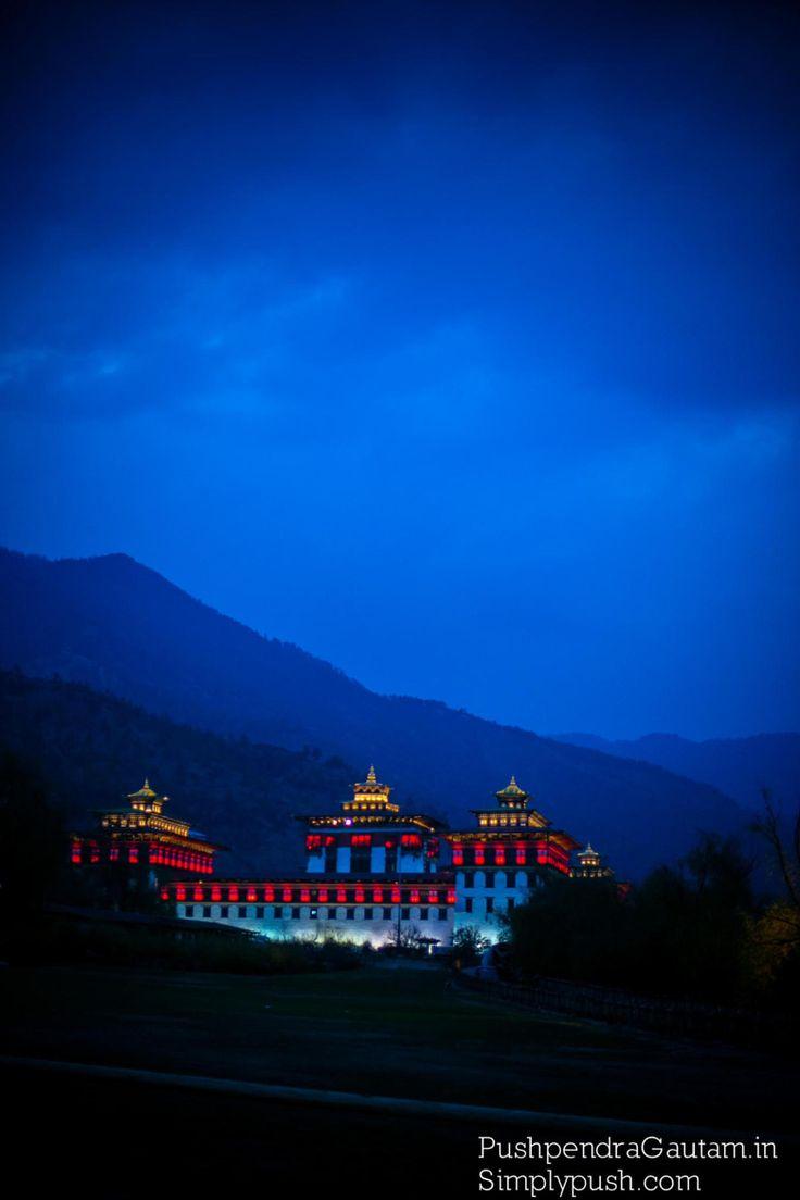 King's Palace . Bhutan