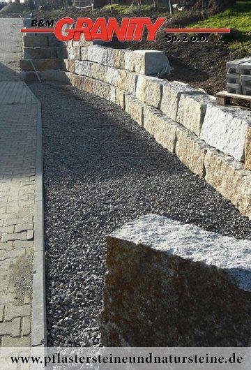 Die besten 25+ Natursteinmauer Ideen auf Pinterest Zaunbau - verputzte beton mauer bilder gartengestaltung