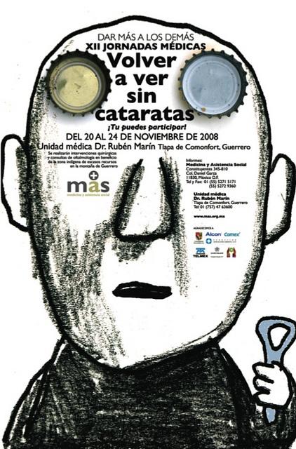 Typographic poster design by Alejandro Magallanes