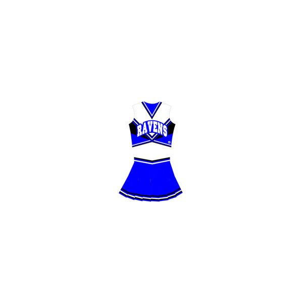 Halloween Costumes & Famous Cheerleader Uniforms ($146) ❤ liked on Polyvore featuring cheerleading and cheer