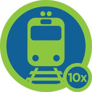 Trainspotter Badge