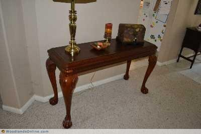 Table for Couch or Entry Way - The Woodlands Texas Furniture For Sale - Living Furniture Classifieds on Woodlands Online