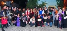 Halloween Party in Transylvania, Sighisoara Citadel, Dracula's birthplace - party from Transylvania Live Halloween tour