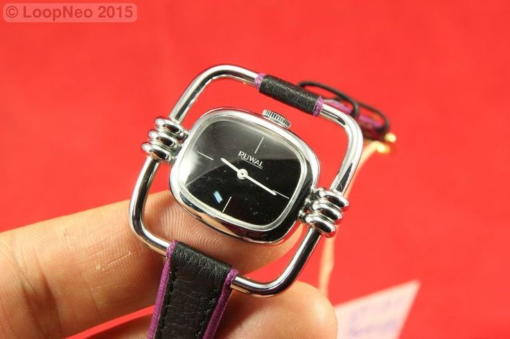 Reloj de pulsera a base de cuerda. - Ruwal http://r.ebay.com/gbEnVr vía @eBay #PetitsEncants #PetitsEncants #ebay #Brocanter #wristwatch #PetitsEncantsBCN #Oddities #Antiques #clock #watch