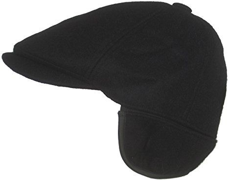 794014fa459 Dorfman Pacific Wool Ivy Scally Cap with Ear Flap Winter Driving Hat Review
