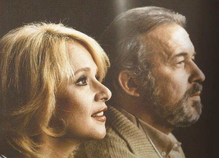 """Αλίκη & Δημήτρης από την θεατρική παράσταση """"Εκπαιδεύοντας τη Ρίτα"""", 1984-85."""