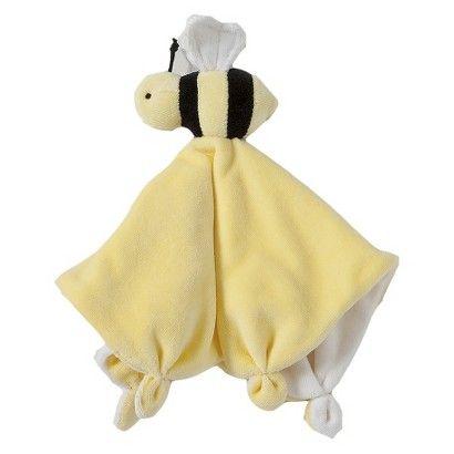 Burt's Bee Velour Lovey Toy - Bee