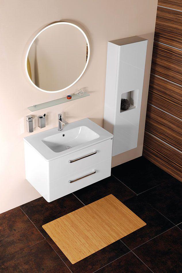 Krásný koupelnový nábytek, nemyslíte? Více na http://www.sapho-koupelny.cz/katalog/nabytek/