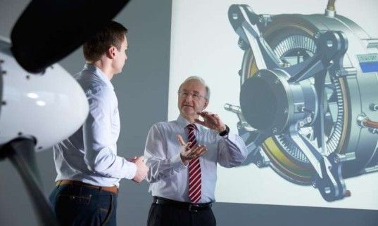 New electric aircraft motor has an output five times that of its competition