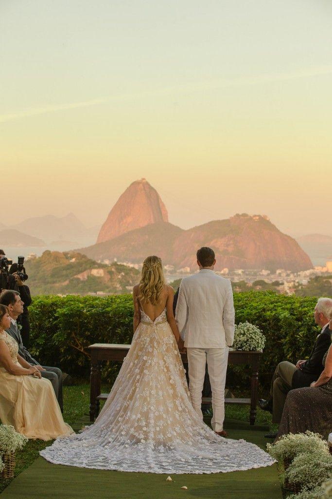 Casamento rústico-chique   Vestido de noiva   Dress Wedding   Rio de Janeiro   Noivo   Noiva   Wedding