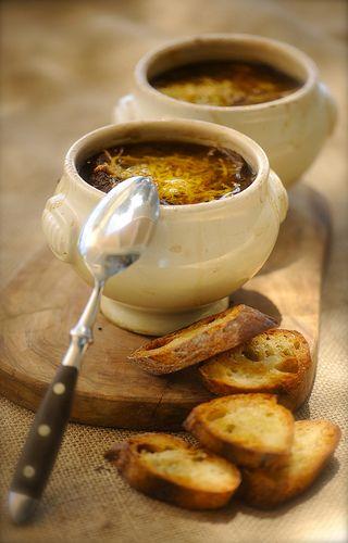 ♔ Soupe à l'oignon