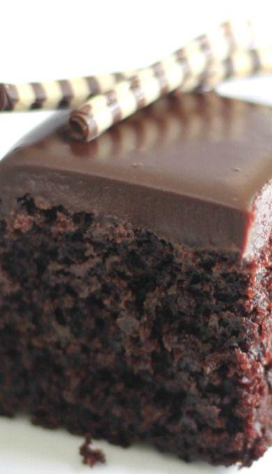 Gentleman's Chocolate Whiskey Cake