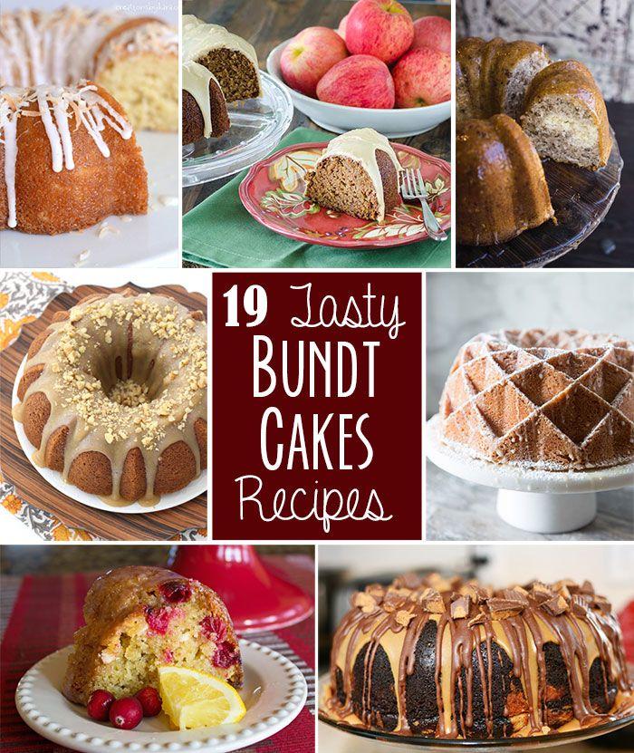 19 Tasty Bundt Cake Recipes // Tried and Tasty