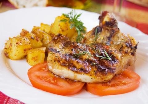 Grillowana karkówka/ Grilled pork www.winiary.pl