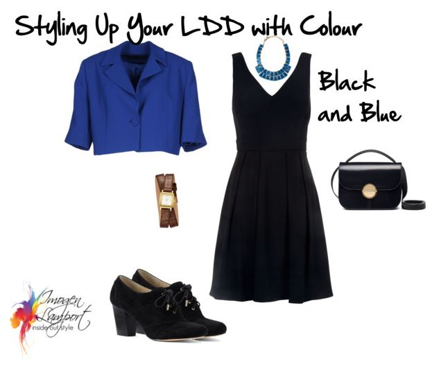 9 Ways to Style Your Little Dark Dress with Colour