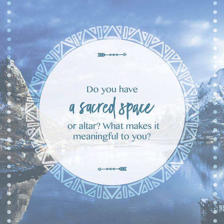 Soul to Soul Q: Do you have a sacred space at home? Do you have an altar? What does it mean to you? x http://www.krisfranken.com/shop/