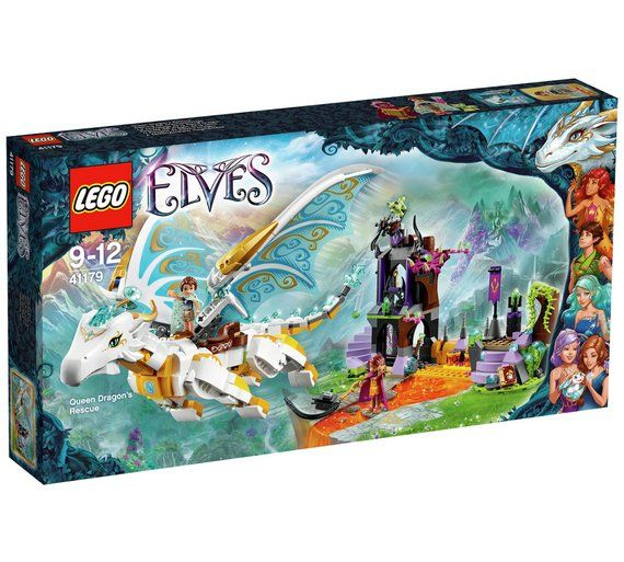 Buy LEGO Elves Queen Dragons Rescue Playset - 41179 at Argos.co.uk - Your Online Shop for LEGO and construction toys, Clearance Toys, Toys.