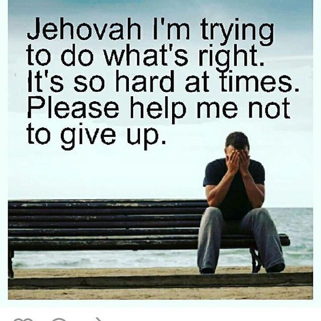 Jehovah we need you !!!