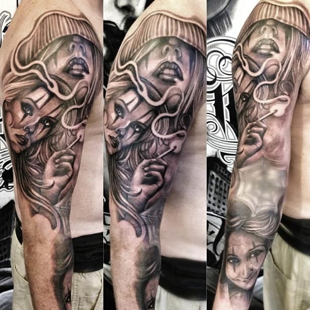 82 best images about tattoo on pinterest chicano art for Inked temptations tattoo studio