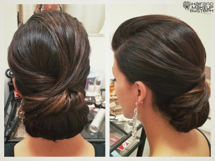 Image result for neat and clean updo bridal