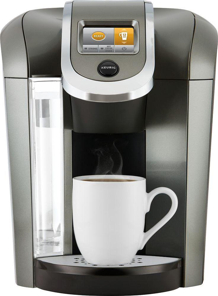 Keurig 2.0 K525 Coffeemaker Platinum (White) Single