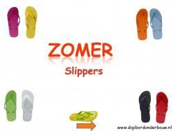 Digibordles Zomer: slippers. In deze digibordles gaan de kinderen op zoek naar de kleur van de slipper en zoeken ze de dezelfde maat van de andere slipper.  http://digibordonderbouw.nl/index.php/themas/zomer/zomerdigibordlessen