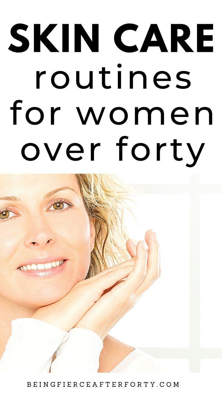 Women health care skincare