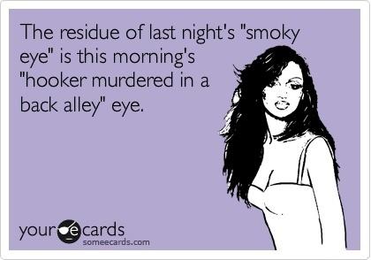 Smokey eye lol: Perfect Makeup, Smoky Eye, Cat Eye Makeup, Smokey Eye