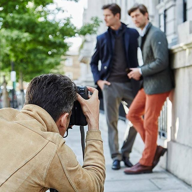 // Re-post from @HackettLondon // Sneak peek at their #AW16 campaign #yycfashion #yycstyle #behindthescanes #sneakpreview #menswear #hackett #comingsoon