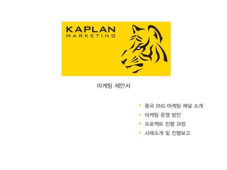 [카플란마케팅] 중국 온라인 마케팅 전략 by kaplanmkt via slideshare
