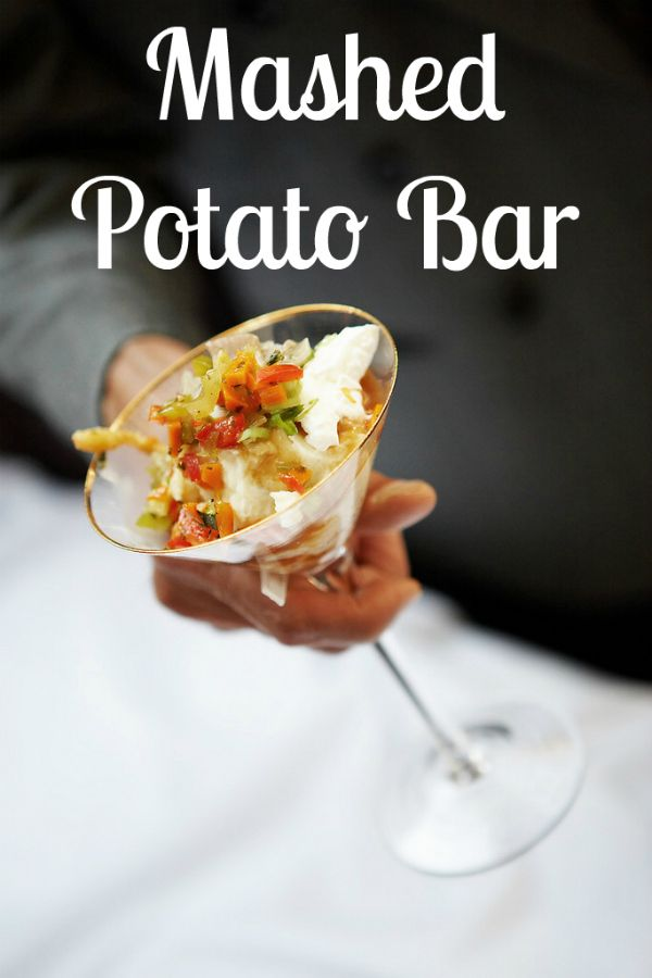 Easy Entertaining: Mashed Potato Bar - Blissfully Domestic